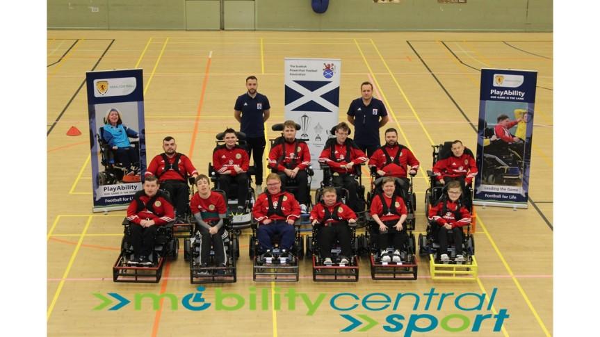 Scotland Powerchair v MiddlesbroughPFC
