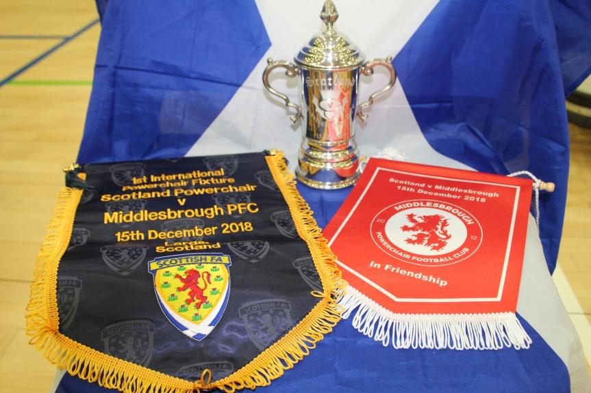 Scotland v MiddlesbroughPFC